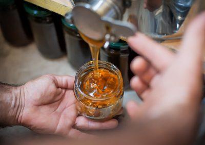 miel industrial y miel natural