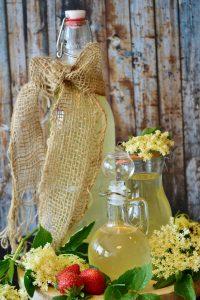 Bebidas naturales con miel
