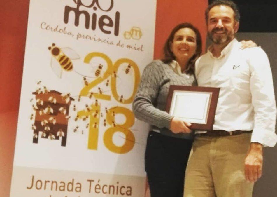 Miel de azahar premiada en Expomiel 2018
